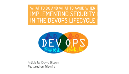 diagram on wow development teams and operations can overlap to produce security in the devops lifecycle