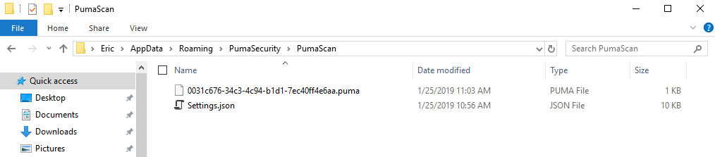 Puma Scan | Installation Instructions